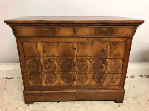 Antique French Chest Drawers - a61